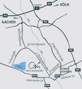 "Karte Gewerbepark ""Alte Molkerei"""